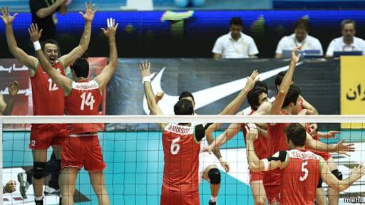 ايران؛ قهرمان واليبال جام ملت های آسيا