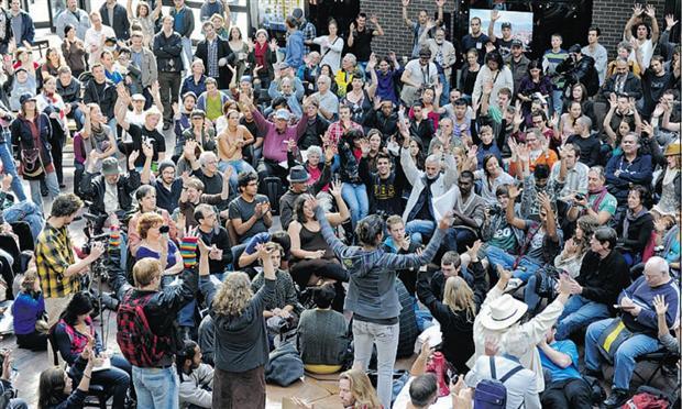 جنبش فراگیر «وال استریت» به ونکوور رسید