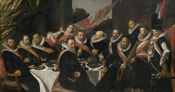 Banquet of the Officers of the Civic Guard of St_ George, 1616