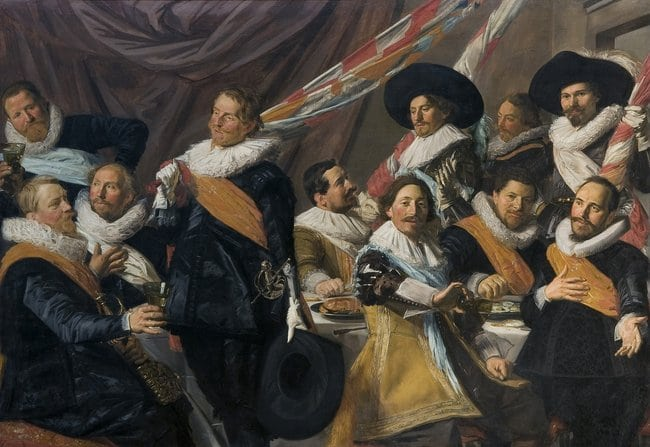 Banquet of the Officers of the Civic Guard of St_ George, 1624-1627