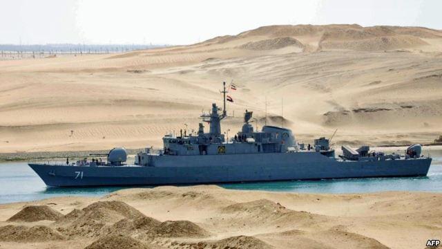 واکنش اسرائیل به عبور ناوهای جنگی ایران از کانال سوئز