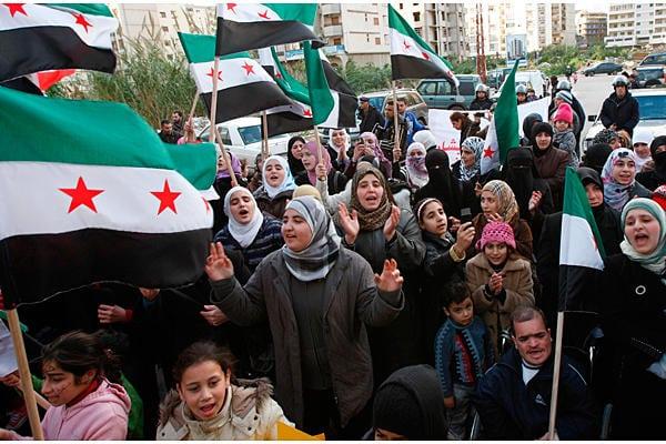 همسایههای سوریه