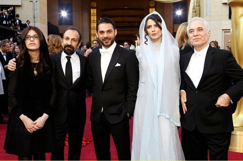 farhadi-and-team-oscars-2012
