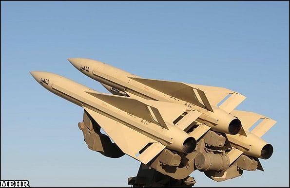 آرایش نظامی یگان های پدافند هوایی ایران در شمال غرب کشور