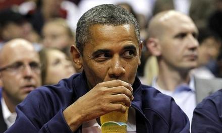 اوباما راز آبجوی کاخ سفید را فاش کرد
