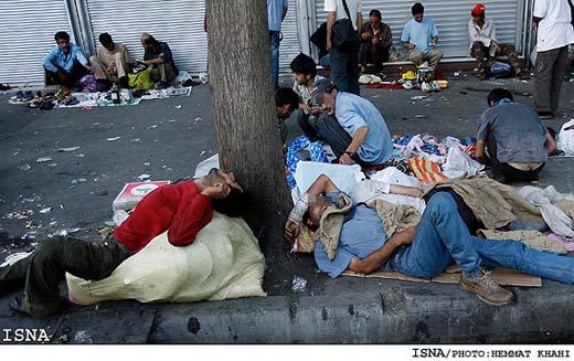 نزدیک به ۴ میلیون گرسنه در ایران