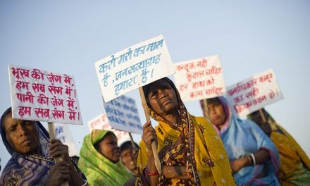 پیاده روی عظیم دهقانان بی زمین هند