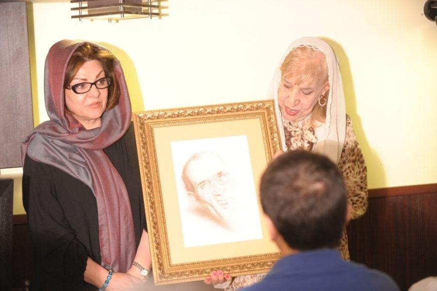 مراسم سومین دوره جایزه شعر نیما با تقدیر از محمد مختاری و سیمین بهبهانی برگزار شد