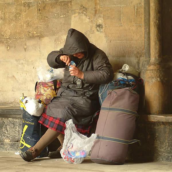 بیخانمانهای ایرانی نورت ونکوور