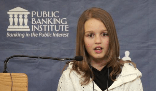 Victoria Grant at Public Banking Conference