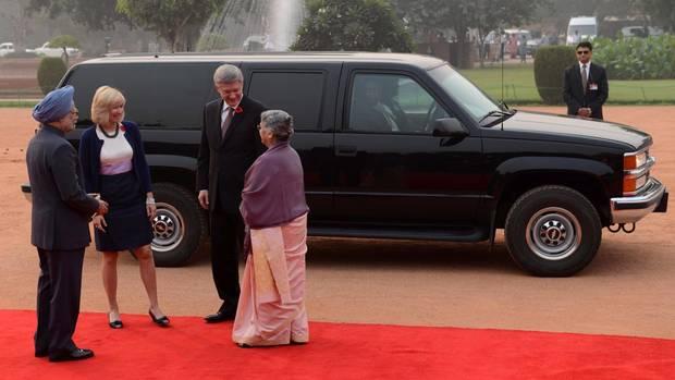 یک میلیون دلار هزینه ارسال لیموزین و اس یوو وی زرهی به هندوستان برای سفر هارپر