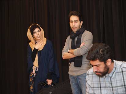 Vanak-Theatre-19 گفتوشنید با مهتاب نصیرپور همراه با عکس