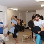 Barkhani-Bizai-11-150x150 گزارشی تصویری از تمرینات و آمادهسازی برخوانی نمایش آرش در ونکوور 