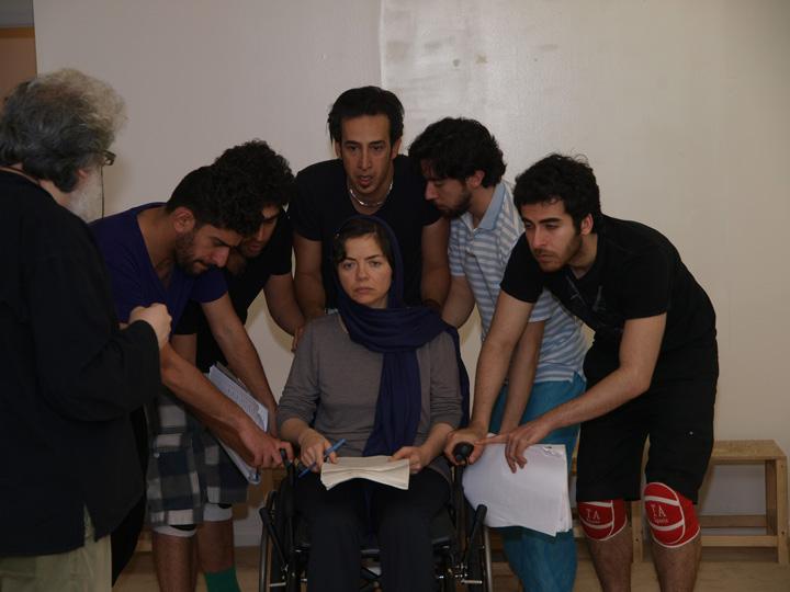 Barkhani-Bizai-141 گزارشی تصویری از تمرینات و آمادهسازی برخوانی نمایش آرش در ونکوور 