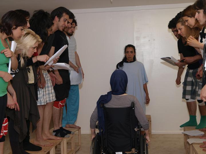 Barkhani-Bizai-52 گزارشی تصویری از تمرینات و آمادهسازی برخوانی نمایش آرش در ونکوور 
