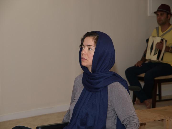 Barkhani-Bizai-60 گزارشی تصویری از تمرینات و آمادهسازی برخوانی نمایش آرش در ونکوور 