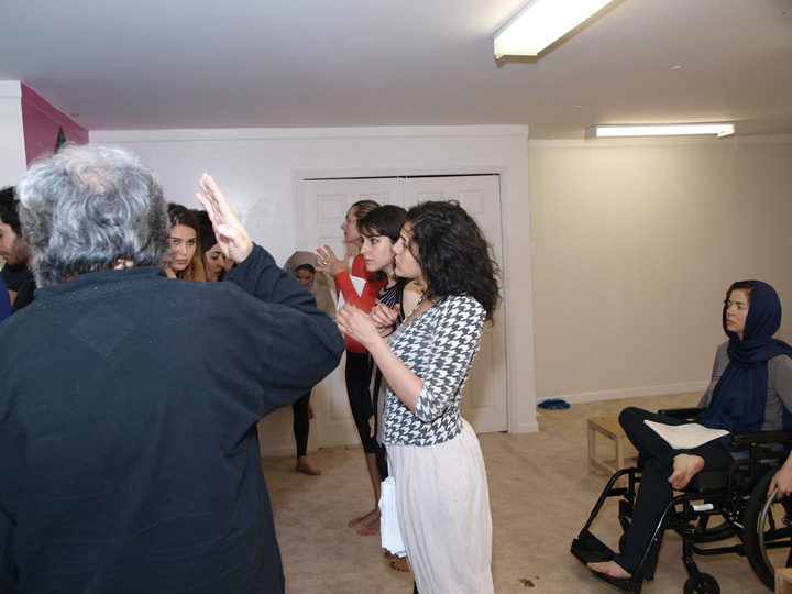 Barkhani-Bizai-62 گزارشی تصویری از تمرینات و آمادهسازی برخوانی نمایش آرش در ونکوور 