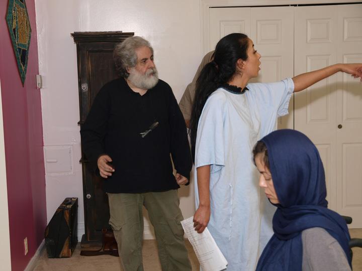 Barkhani-Bizai-81 گزارشی تصویری از تمرینات و آمادهسازی برخوانی نمایش آرش در ونکوور 