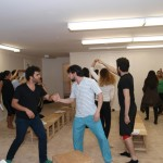 Barkhani-Bizai-9-150x150 گزارشی تصویری از تمرینات و آمادهسازی برخوانی نمایش آرش در ونکوور 