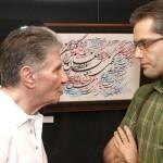 Kaboli-in-Van-14-150x150 گزارش تصویری از اولین نمایشگاه نقاشیخط و شکسته نستعلیق استاد کابلی در ونکوور