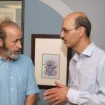 Kaboli-in-Van-15-150x150 گزارش تصویری از اولین نمایشگاه نقاشیخط و شکسته نستعلیق استاد کابلی در ونکوور