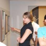 Kaboli-in-Van-7-150x150 گزارش تصویری از اولین نمایشگاه نقاشیخط و شکسته نستعلیق استاد کابلی در ونکوور