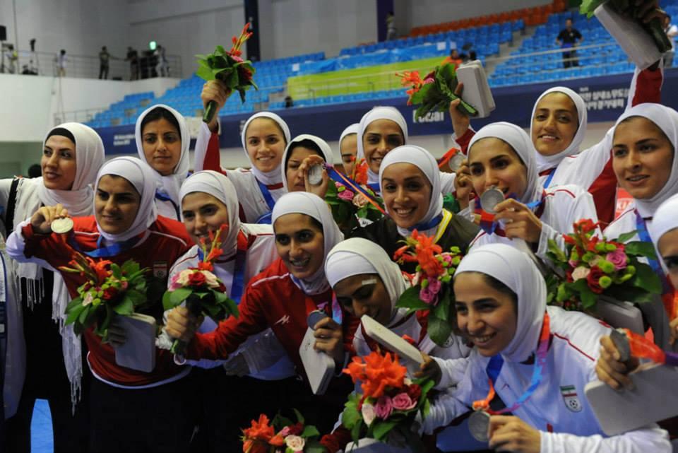 جمعه، روز خوبی بود: زنان ایرانی نایبقهرمان آسیا شدند