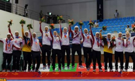 تیم فوتسال زنان ایران برای اولین بار نایب قهرمان آسیا شد