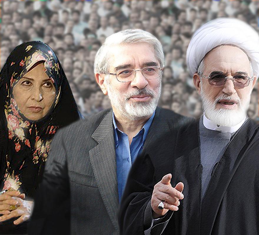 پيشنهاد احمد منتظری به رهبر ايران برای حضور کروبی و موسوی در مراسم تنفيذ