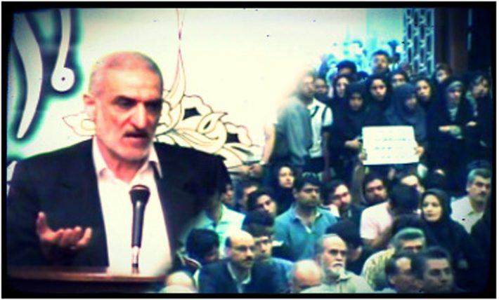 فیلم اظهارات جعفر توفیقی در تحصن سال ۸۸ مسجد دانشگاه تهران