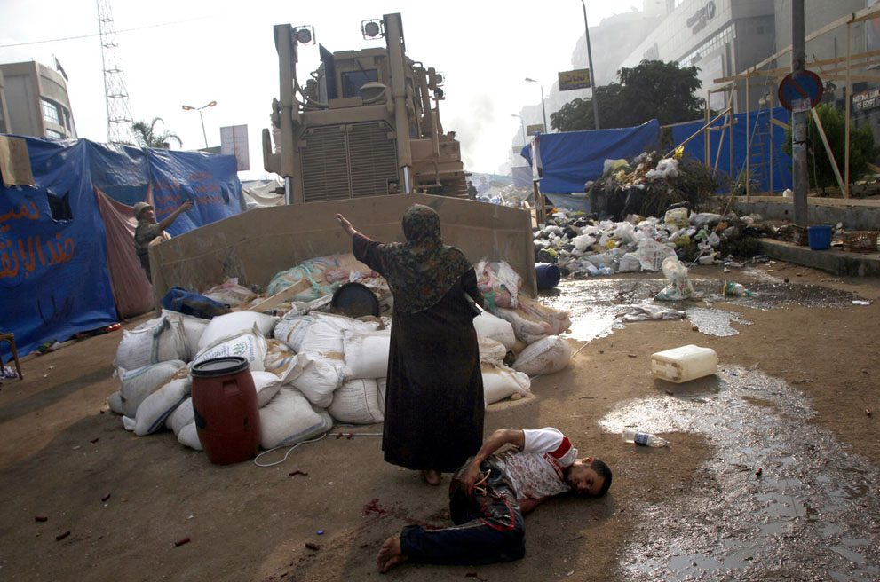 """تصویر زنی که """"مصر را تکان داد"""""""