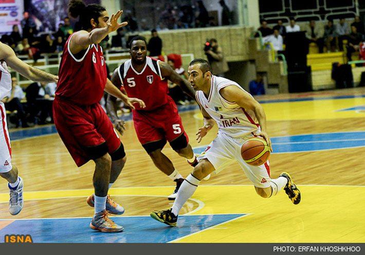 بسکتبال ايران از اردن انتقام گرفت