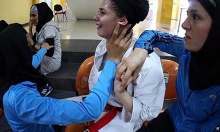 حذف تیم کاتای بانوان ایران به دلیل رعایت حجاب