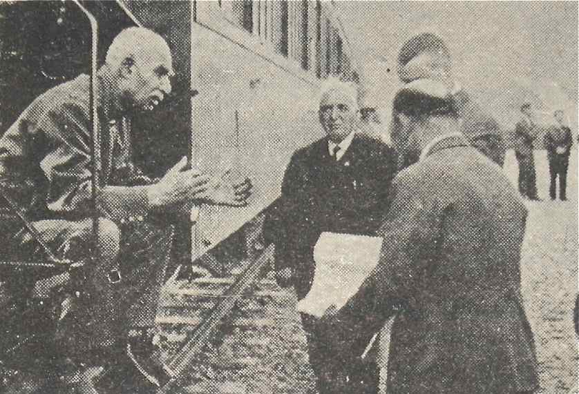 Reza Shah Pahlavi at the Trans-Iranian Railway, Iran, 1939 – Courtesy Archives of Homa Nasab for Iranica Pictura IMG_0169