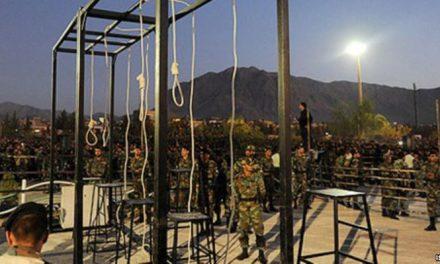 اعدام ۱۶ تن در زندان زاهدان به تلافی مرگ مرزبانهای ایران