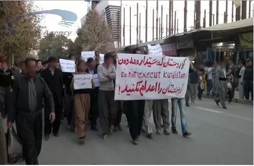 2013-11-05_1215 تظاهرات شهروندان مریوان در پی اعدام زندانیان سیاسی کُرد