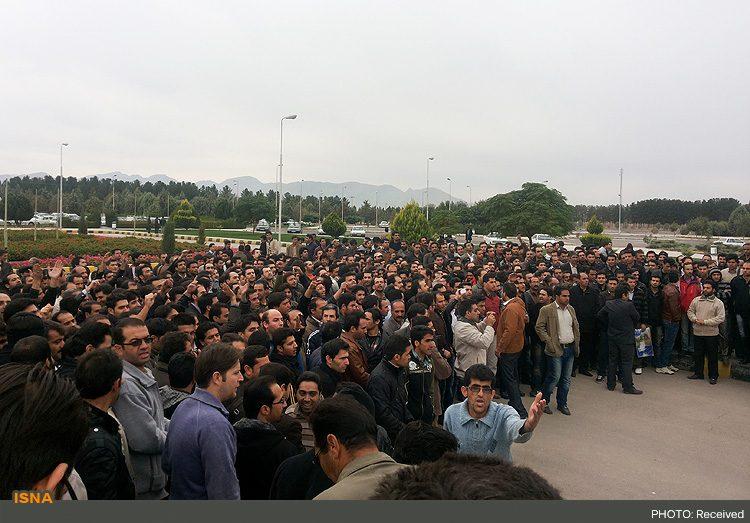 چهار کارگر پلی اکریل اصفهان بازداشت شدند