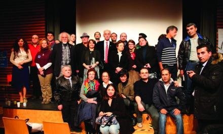 نشستی به مناسبت بزرگداشت پنجاه سال فعالیت حقوق بشر دکتر عبدالکریم لاهیجی