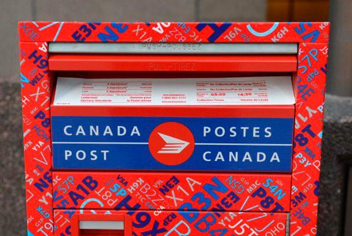 توقف خدمات پستی کانادا به در خانهها و بیشغل شدن ۸۰۰۰ پرسنل اداره پست