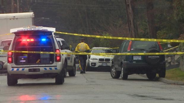 police-investigate-shooting-scene-in-north-vancouver
