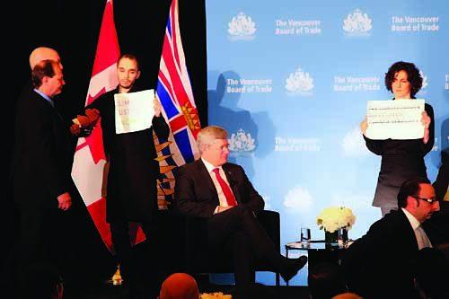 DPBall-Harper-VBOT-protest