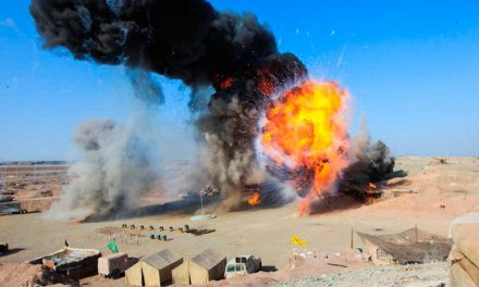انفجار در پشت صحنهی فيلم دهنمکی ۵ کشته و ۲ مجروح بهجا گذاشت