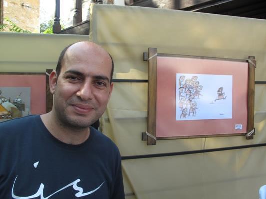 گفت و گو با داریوش رمضانی، کارتونیست و خالق کمیکاستریپ «گوزن در رشت»