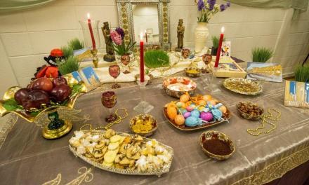 جشن با شکوه نوروزی در آموزش و پرورش ناحیه ۴۳ شهر کوکیتلام
