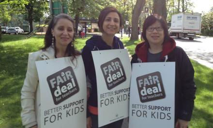 ادامه اعتصاب معلمان بریتیش کلمبیا در هفته آینده
