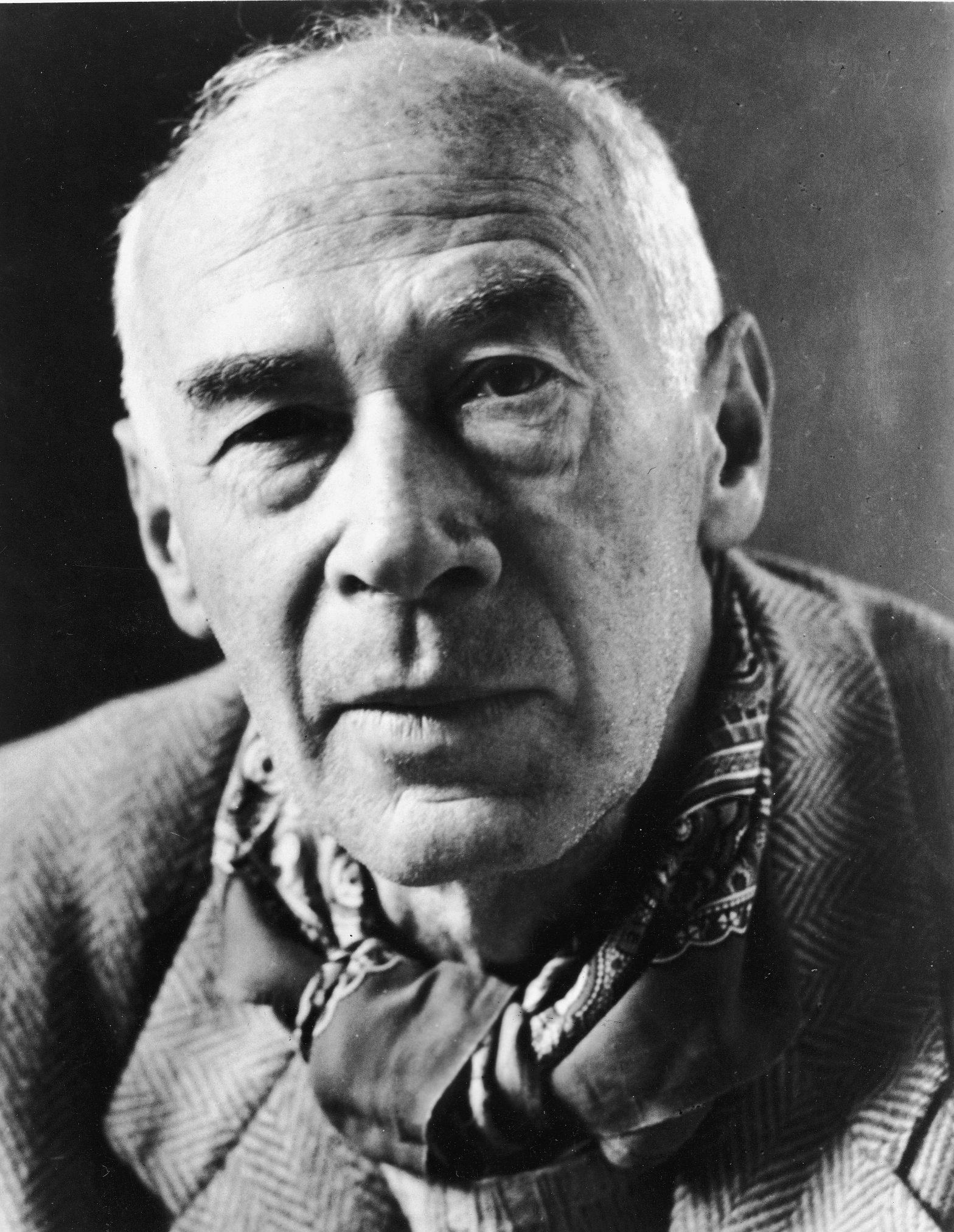 Portrait of Author Henry Miller