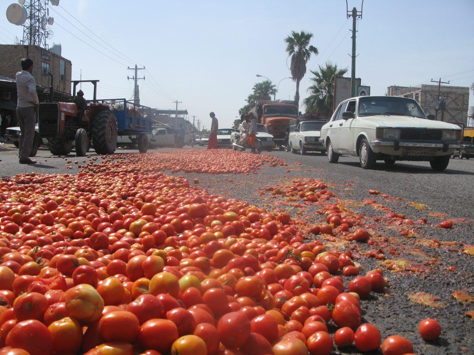 Farmer protest-Iran