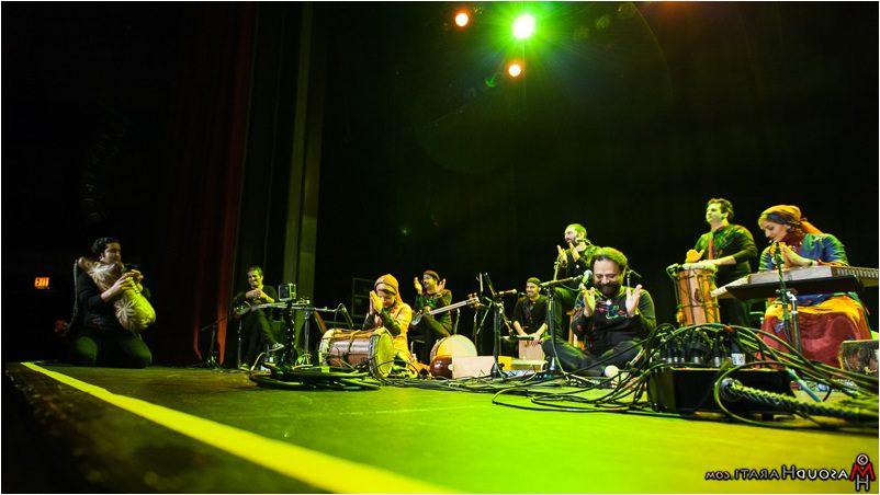 masoudHarati-rastakVan09 صحنههایی از کنسرت گروه موسیقی رستاک در ونکوور به روایت مسعود هراتی