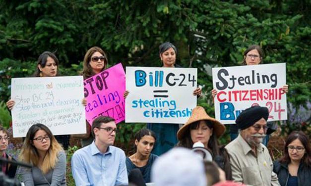 بازهم درباره لایحه C-24و نقض فاحش حقوق شهروندی در کانادا