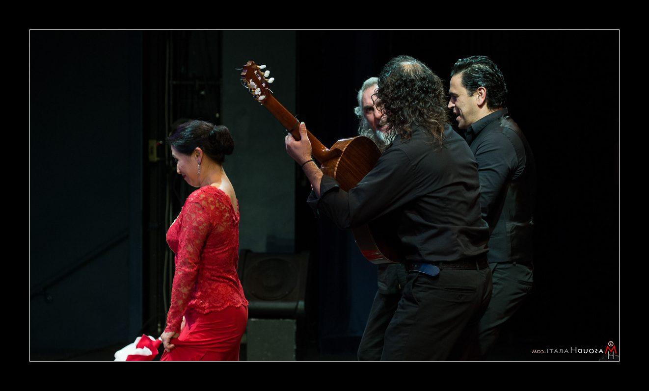 کنسرت فلامینگو گروه موسیقی اسپانیایی  Sonidos Gitanos